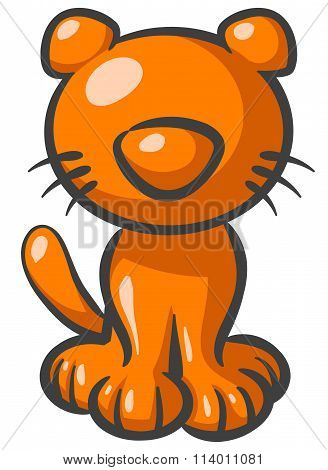 Orange Kitty Cat