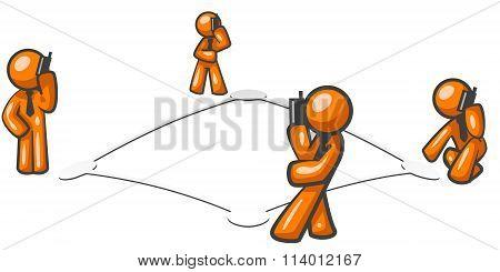 Orange Man Networking