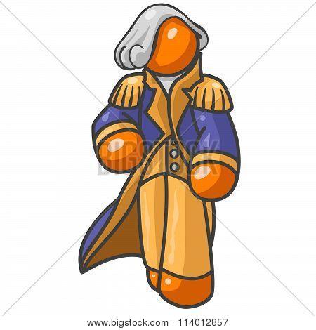 Orange Man Presendent Washington