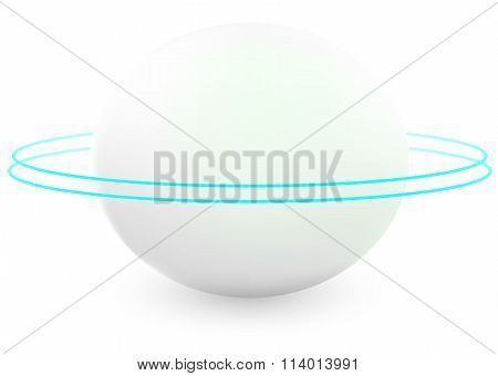 Abstract Technology Sphere