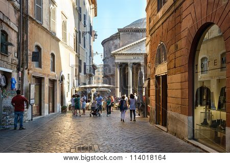 Way To Pantheon