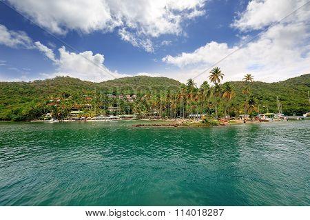 Marigot Bay, Saint Lucia, Caribbean