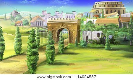 Ancient Rome and Coliseum