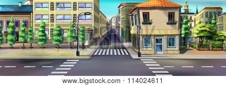 City streets. Image 02