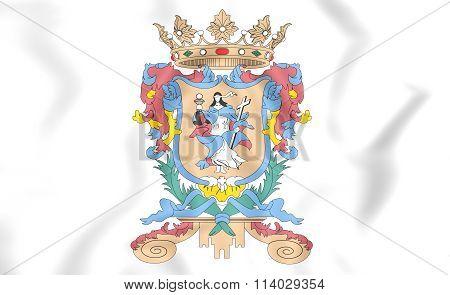 Flag Of Guanajuato, Mexico.
