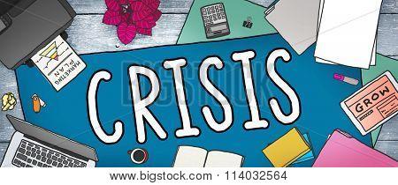 Crisis Accounting Banking Failure Financial Concept