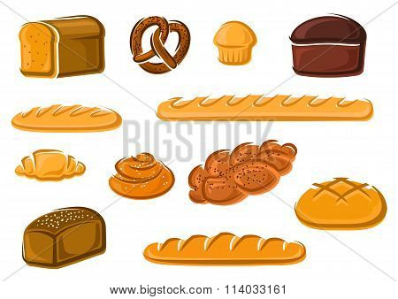 Healthy natural bakery and pastry products