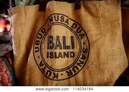 Bali Souvenir Bag, Ubud, Bali