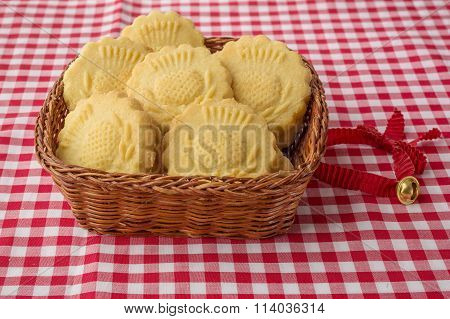 Some Decorated Traditional Butter Biscuits