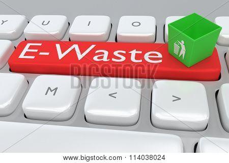 E-waste Concept