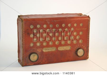 Early Transistor Radio - Portable