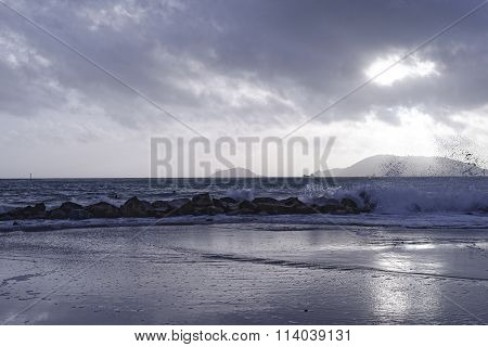Storm In Ligurian Sea