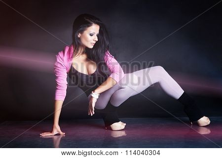 Dancer girl portrait
