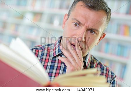 shocked reader