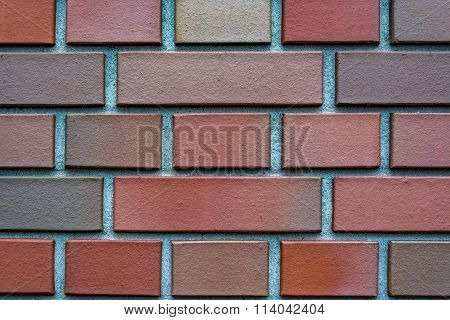 Clinker brick background, wallpaper, texture, pattern