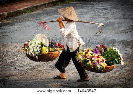 Vietnam florist vendor