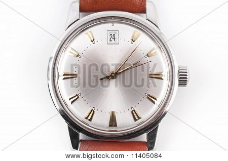 Brown Vintage Watch