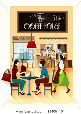Coffee House  Design Concept