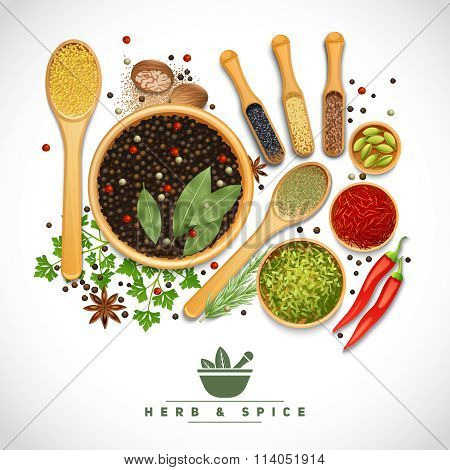 Herb And Spice Poster