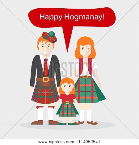 Scots People Congratulations Happy New Year