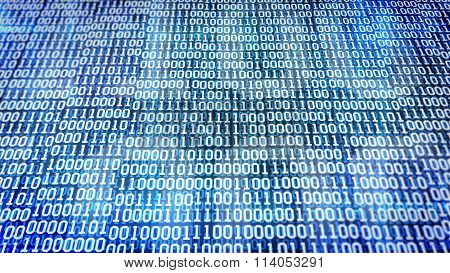 Binary Code Screen