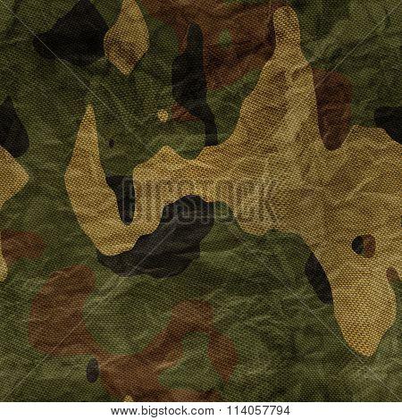 Khaki camouflage texture