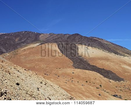 Volcano Pico Del Teide At Tenerife