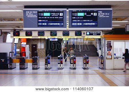 Osaka Namba Train Station