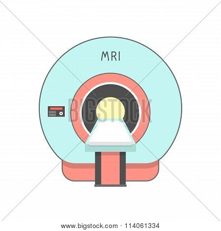 blue and red medical imaging system