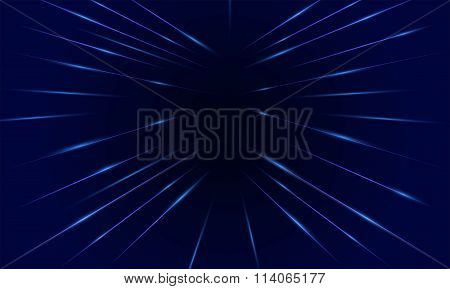 Technology A Background Of Luminous Lines.vector