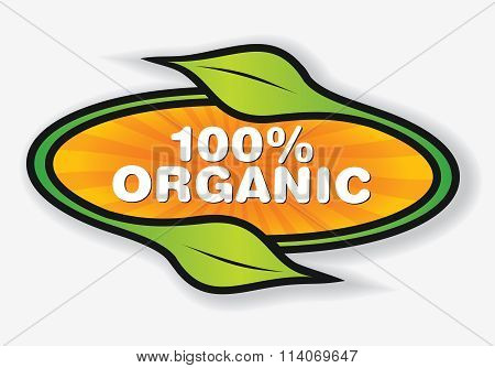 Organic Products Label.