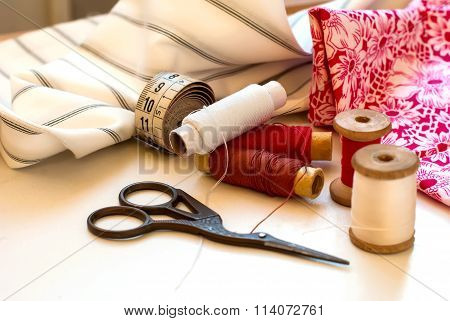 Spool Of Thread . Sew Accessories.