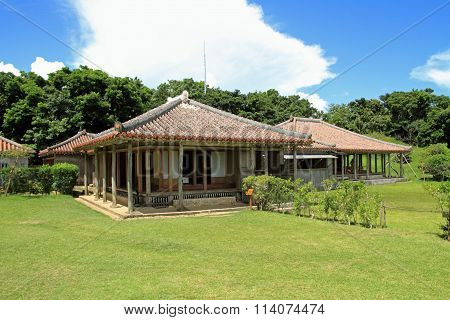 Shikina-en (royal palace) in Naha Okinawa Japan