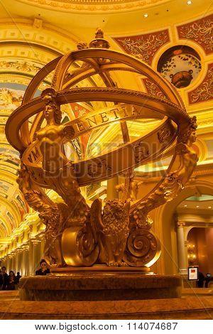 Venetian Macao Resort Hotel interior details