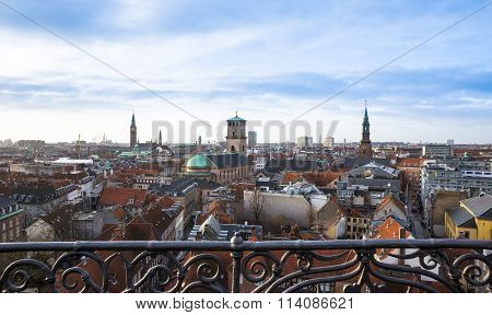 Copenhagen City view, Denmark, Scandinavia