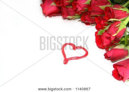 Attractive Heart Background