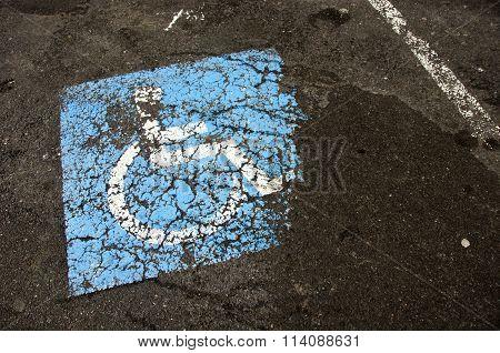 Invalid Sign On Asphalt