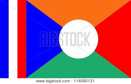 Reunion Local Flag