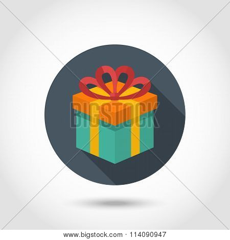 Vector Gift box colorful icon