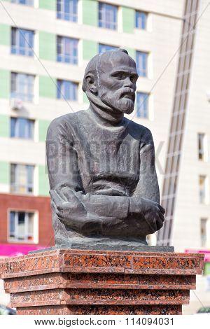 Monument Stanislav Kosenkov. Belgorod. Russia