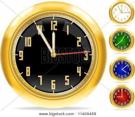 Relojes de oro set #1 | Vector.ai 10