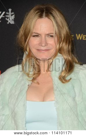 LOS ANGELES - JAN 10:  Jennifer Jason Leigh at the Weinstein Company & Netflix 2016 Golden Globe After Party at the Beverly Hilton on January 10, 2016 in Beverly Hills, CA