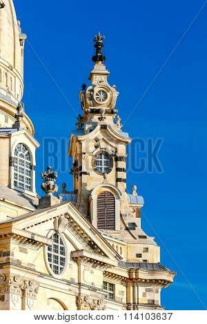 Dresden.  Frauenkirche church.