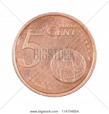 Five Cents Coin