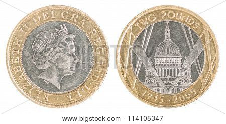 Coin Two Pounds