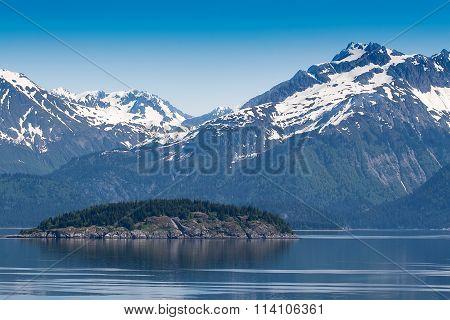 Scenic Landscape Of Alaska Terrain