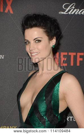 LOS ANGELES - JAN 10:  Jaimie Alexander at the Weinstein Company & Netflix 2016 Golden Globe After Party at the Beverly Hilton on January 10, 2016 in Beverly Hills, CA