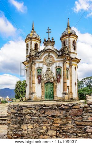 Church of St. Francis of Assisi in Ouro Preto