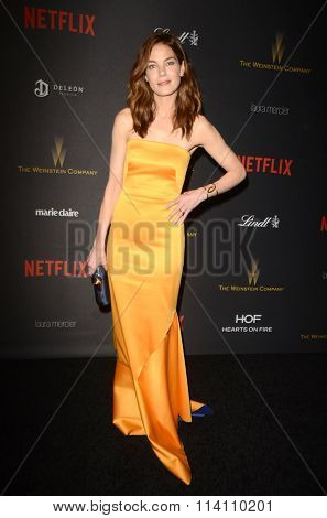 LOS ANGELES - JAN 10:  Michelle Monaghan at the Weinstein Company & Netflix 2016 Golden Globe After Party at the Beverly Hilton on January 10, 2016 in Beverly Hills, CA