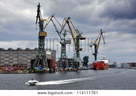 The Baltic port